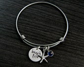 Alex and Ani Personalized Hand Stamped Bangle Bracelet