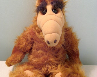 Vintage Alf Plush Doll