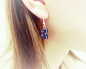 Stack of Books Earrings, Classic Penguin Design (Made to Order) - Book Jewelry by Coryographies