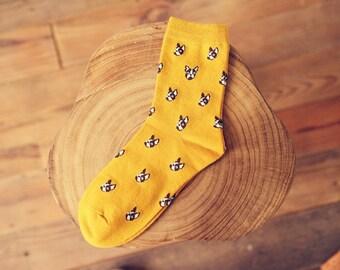French Bulldog Print Socks