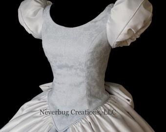 Cinderella (Damask) Custom Costume (ONLY ONE LEFT)