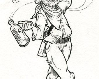 Hobomancer Demon in a Bottle