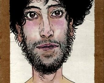 original illustration - face 5