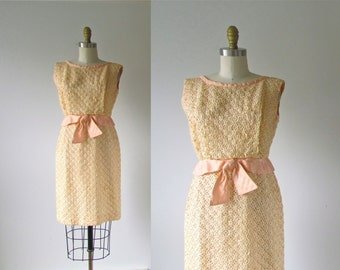 vintage 1960s dress / 60s dress / Happy Hour