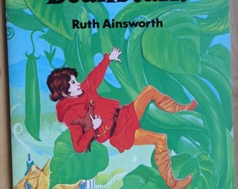 Vintage Jack and the Beanstalk book