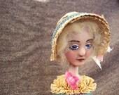 Painted Lady Candlestick Doll: Ellen