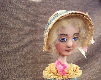 Painted Lady Candlestick Doll: Ellen