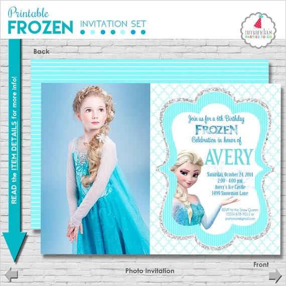 Frozen birthday invitation printable frozen party invitation il570xn filmwisefo