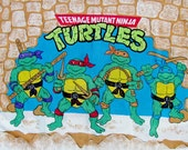 Teenage Mutant Ninja Turtles Pillowcase 1988 Standard Size