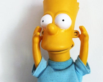 Vintage Bart Simpson Doll Official 1990 The Simpsons TV Show
