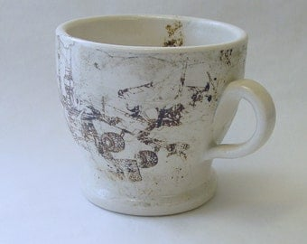 Mars Buggy Lithographed Collage Mug