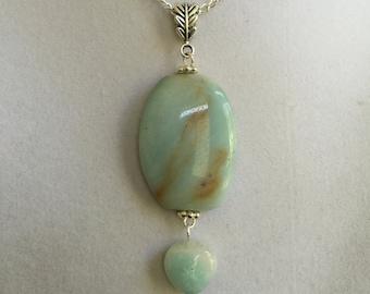 Amazonite Stone Necklace