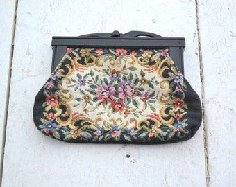 1960s Tapestry Change Purse