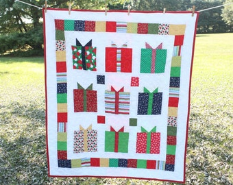 Christmas Present Quilt **reduced**