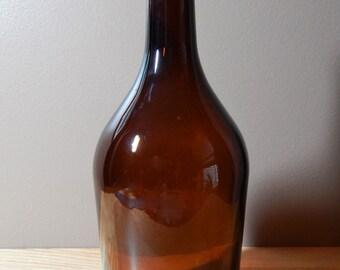 Vintage Large Half Gallon Brown Liquor Bottle
