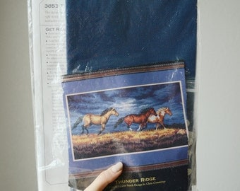 Thunder Ridge Cross Stitch Pattern KIt