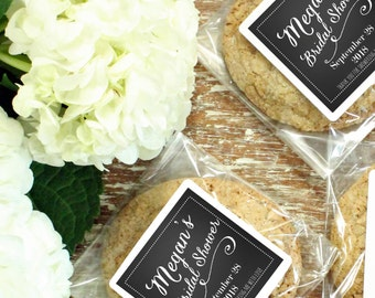 24 - Bridal Shower Favor Bags - Jenna Design | Bridal Shower Favors | Cellophane Cookie Bags | Candy Bags | Baby Shower - ANY OCCASION