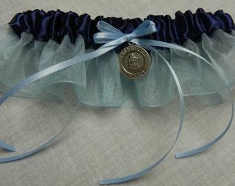 US Air Force dress blue garter