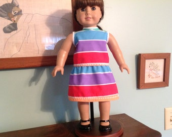 "18"" Doll Clothes, top and skirt, 18"" doll dress , 18 inch doll clothes"