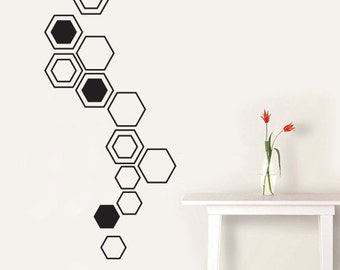 Geometric wall decals the living wall Home decor wall decor australia
