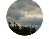 "Clouds Circle Print - 8""x12"" Physical Print"