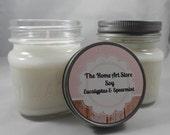 Soy - Eucalytus & Spearmint - 8 oz Mason Jar Candle