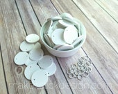Add-On White Painted Extra Circles For Family Birthday Boards and Celebration Boards