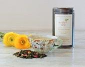 Spring Fancy Green & White Tea Blend • 3.5 oz. Tin • Loose Leaf Tropical Fruit Tea