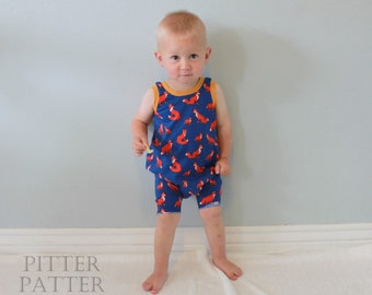 Harem Romper // Child Romper // Baby Romper // Child Bodysuit // Baby Bodysuit // Infant Romper // Unisex // Modern Children Clothing