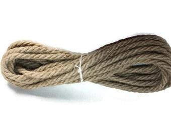 10 mm Jute Cord Natural - 11 Yards = 10 Meters