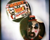 "Captain Spaulding and his Murder Ride - Large 2.25"" Button"