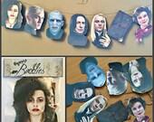 Hogwarts Inspired Baddies Garland Banner