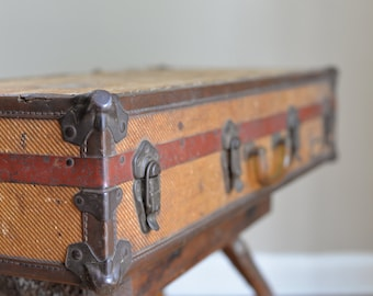 Vintage Shoe Salesman Suitcase