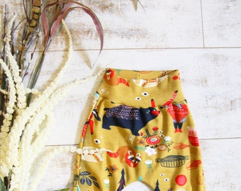 Bears Organic Cotton Knit Baby Toddler Kids Pants - Limited Edition