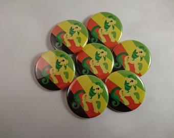 Magic Star Aromantic Pride - Pride Ponies - My Little Pony LGBTA 32mm badge