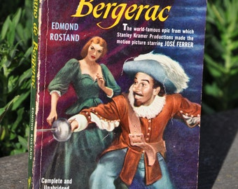 Cyrano de Bergerac by Edmond Rostand, epic play, theater 1950
