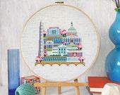 Pretty Little Washington DC : Satsuma Street Jody Rice counted cross stitch patterns embroidery wall art