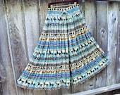 Sale 30% off Bohemian Maxi Skirt.