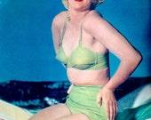 1951 RARE Marilyn Monroe Pin-Up Original Print