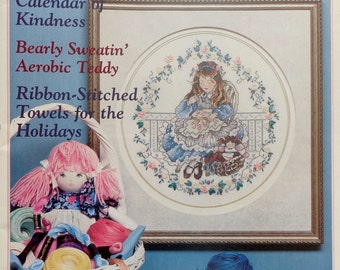 Stoney Creek Collection Magazine THE SAMPLER LESSON November/December 1995 - Counted Cross Stitch Patterns