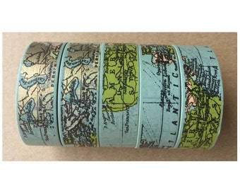 Map Washi Tape (10M)