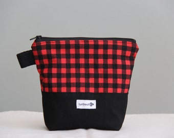 Reusable sandwich bag, reusable snack bag, ecofriendly, zippered, ProCare lined - The Starving LumberJack