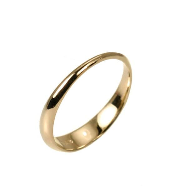 Items similar to Simple wedding ring for women simple wedding band on Etsy