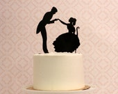 Silhouette Wedding Cake Topper   - PHOTO SAMPLE for SALE