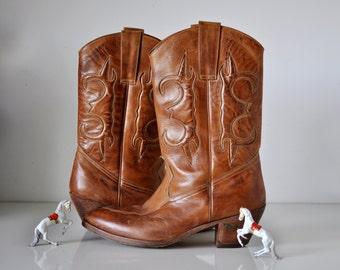 Vintage Cowboy Boots Jean Pier Clemente Brazil