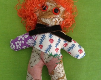 Art doll #1 - Free delivery to the UK