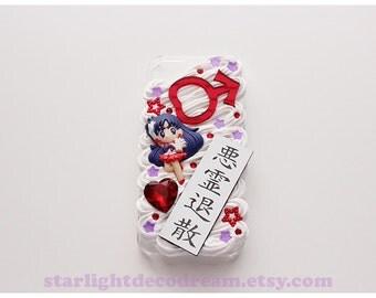Sailor Mars Sweets n' Cream iPhone 5S Deco Decoden Case for Kawaii Fairy Kei or Cute Style