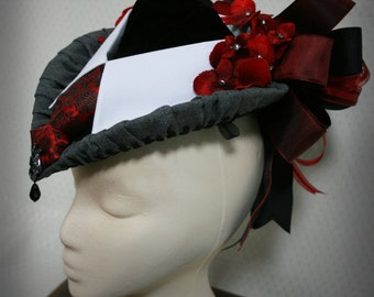 Women's Victorian, Edwardian, Steampunk Hat: The Suit Hat
