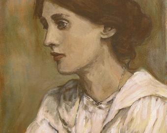 Virginia Woolf print
