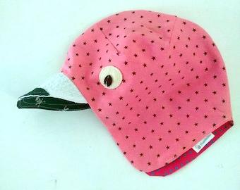 Flamingo Hat, Toddler Flamingo Hat, Kids Sun hat, Kids Flamingo Hat, Children Sun Hat, Toddler Animal Hat, Kids Photo-prop